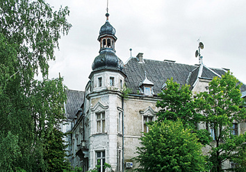 The administrative building of the government of Gumbinnen District